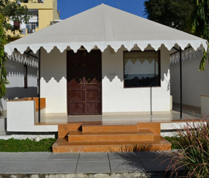 FIXED WALL TENT MANUFACTURER